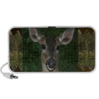 DEER Animal Wild Garden Park Zoo  Farmer Mammal Portable Speaker