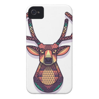 deer animal with horns Case-Mate iPhone 4 case