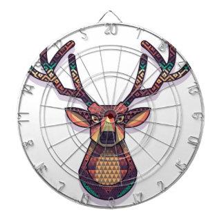 deer animal with horns dartboard