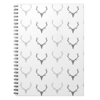Deer Antler Pattern Notebook