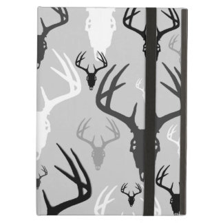 Deer Antlers Skull pattern Cover For iPad Air