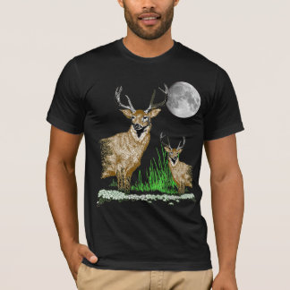 Deer Art Wildlife T-Shirt