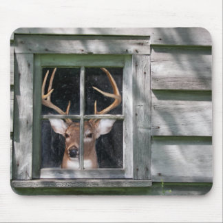 Deer Blind Mouse Pad