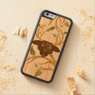 Deer, Branches & Leaves Cherry iPhone 6 Bumper Case