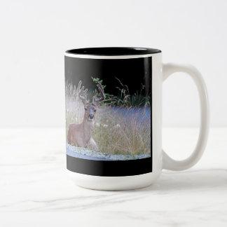 Deer Buck Lying Down Mugs