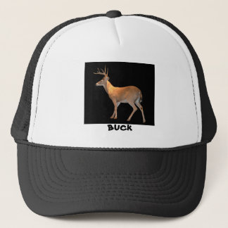 Deer (Buck) White-Tailed Trucker Hat