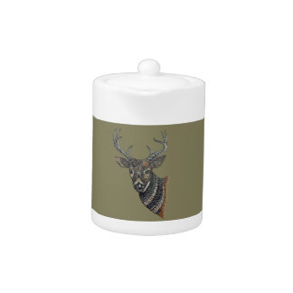 Deer Buck with Intricate Design