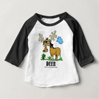Deer by Lorenzo © 2018 Lorenzo Traverso Baby T-Shirt