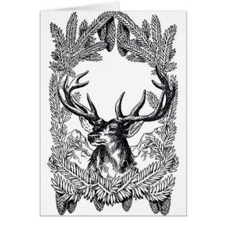 Deer card