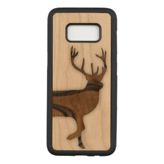 Deer Carved Samsung Galaxy S8 Case