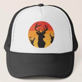 Deer Circle Trucker Hat