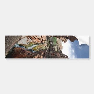 Deer Creek Narrows Waterfalls 2 - Grand Canyon Bumper Sticker
