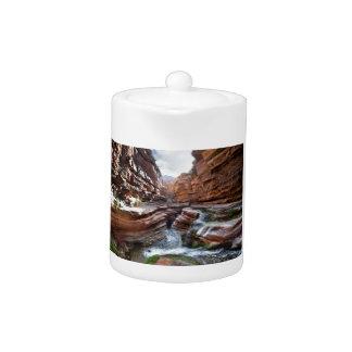 Deer Creek Narrows Waterfalls - Grand Canyon