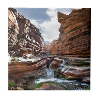 Deer Creek Narrows Waterfalls - Grand Canyon Ceramic Tile