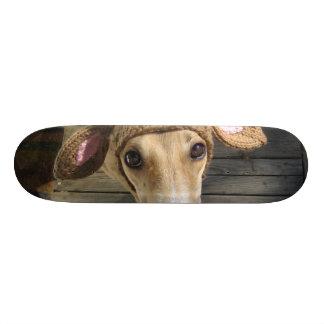Deer dog - cute dog - whippet 19.7 cm skateboard deck