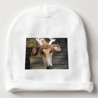 Deer dog - cute dog - whippet baby beanie