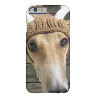 Deer dog - cute dog - whippet barely there iPhone 6 case