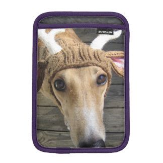 Deer dog - cute dog - whippet iPad mini sleeve
