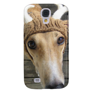 Deer dog - cute dog - whippet samsung galaxy s4 cover