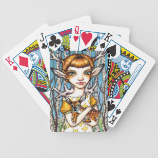 Deer Dorothy Bicycle Playing Cards