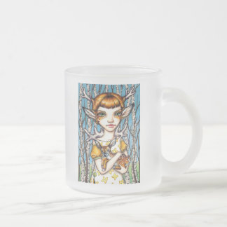 Deer Dorothy Frosted Glass Coffee Mug