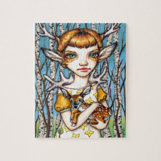 Deer Dorothy Jigsaw Puzzle