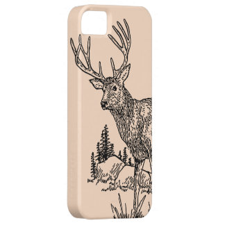 Deer Drawing iPhone 5 Case
