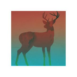 Deer Dream Wood Print