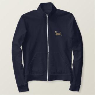 Deer Embroidered Jacket
