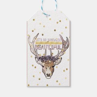 Deer Explorer Gift Tags