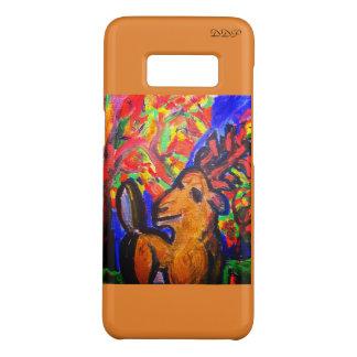 deer fall art Case-Mate samsung galaxy s8 case