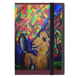deer fall art iPad mini cover