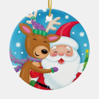 """Deer"" Friends Ceramic Ornament"