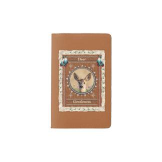 Deer -Gentleness- Notebook Moleskin Cover