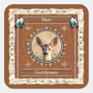 Deer -Gentleness- Stickers - 20 per sheet