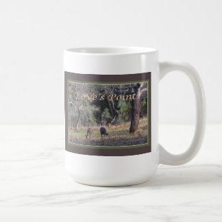 Deer Grazing at Love's Point Coffee Mug