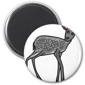 Deer Grey Magnet