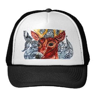 Deer Head Art01 Cap