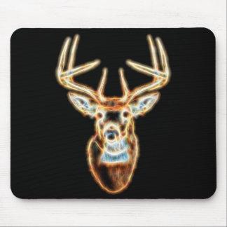 Deer Head Energy Spirit Mouse Pad