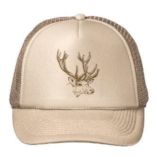 Deer Head Graphic Cap