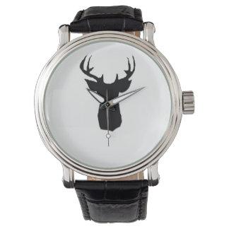 deer head image on watch