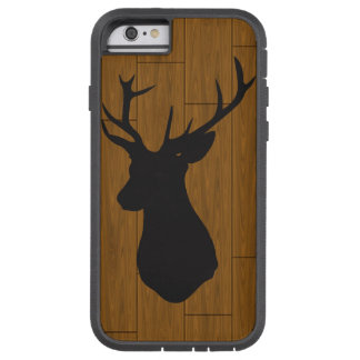 Deer Head on Wood Tough Xtreme iPhone 6 Case