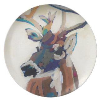 Deer Head Plate
