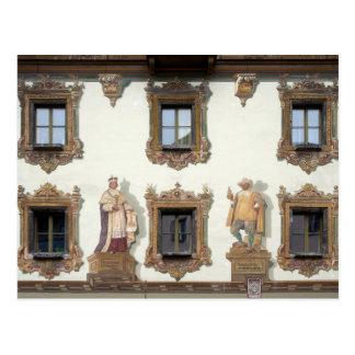 Deer House (Hirschenhaus) in Berchtesgaden Postcard