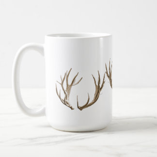 Deer Hunter Antlers Coffee Mug