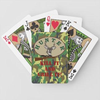 Deer Hunter Hunting Season Bicycle Playing Cards