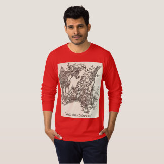 Deer Hunter Red humerous safety warm shirt