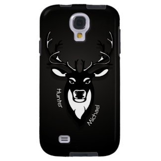 Deer Hunter Samsung Galaxy S4 Black And White Case