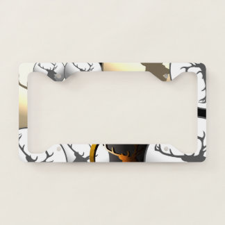 Deer Hunter Tag Licence Plate Frame