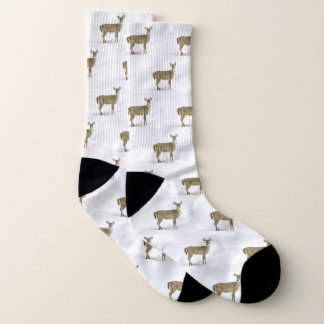 Deer Hunter / Whitetail Deer Pattern Socks 1